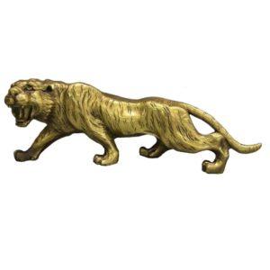 Statue Tigre Féroce Tiger