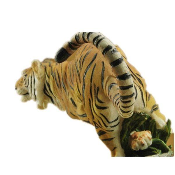 Statue Tigre Chasse dos