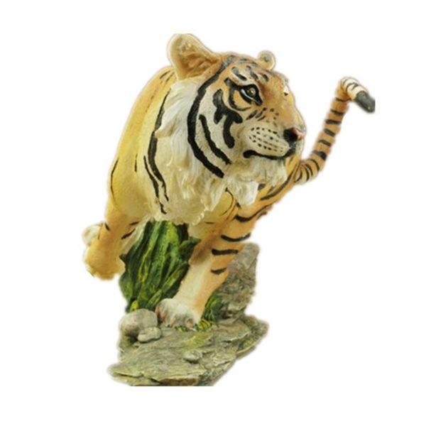 Statue Tigre Chasse face