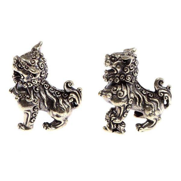 Statue Tigre Chinois profil