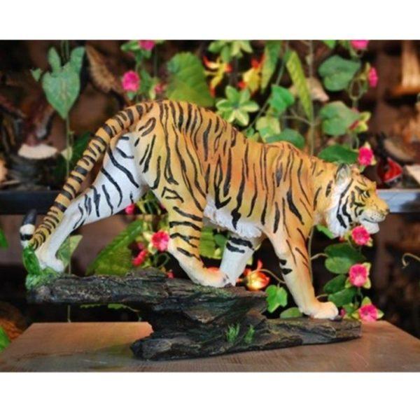Statue Tigre Doux Félin 2