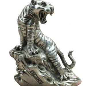 Statue Tigre Féroce Rugissement