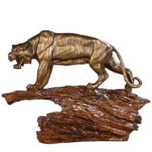 Statue Tigre Gouvernance Feline