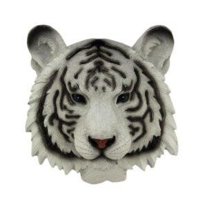 Statue Tigre Head White