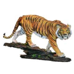 statue tigre doux félin