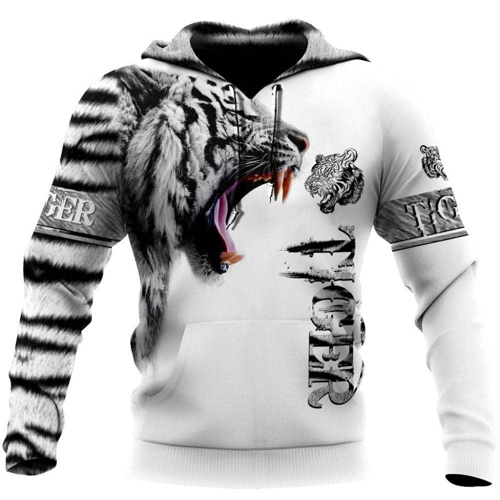 Sweat Tigre Tiger White 2