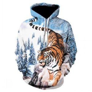 Sweat Tigre En Montagne