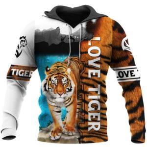 Sweat Tigre Love Tiger Picture
