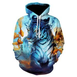 Sweat Tigre Marin
