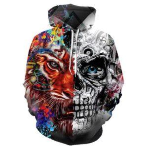 Sweat Tigre Mi-Skull
