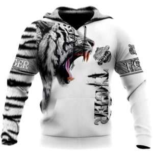 Sweat Tigre Tiger White