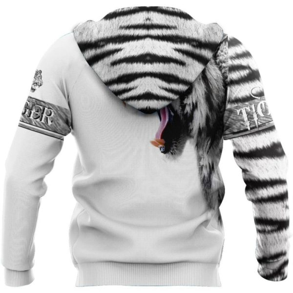 Sweat Tigre Tiger White dos