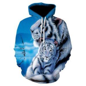 Sweat tigre câlin