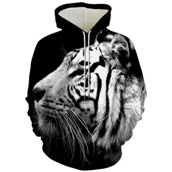 sweat tigre profil