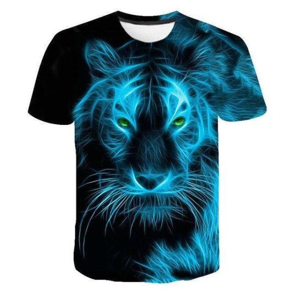 t-shirt tigre fashion night