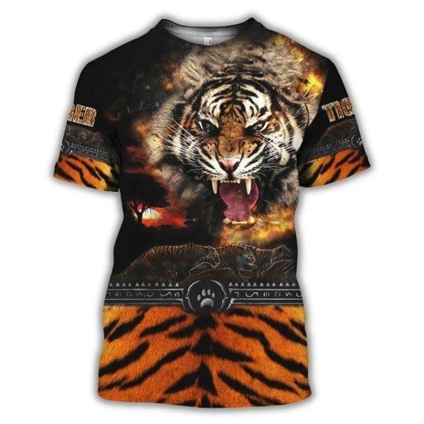 T-Shirt TIgre Féroce Meute