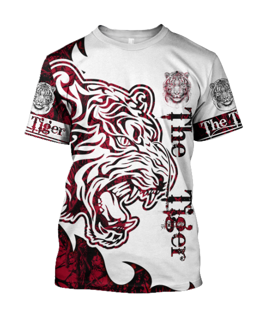 T-Shirt TIgre The Tiger red
