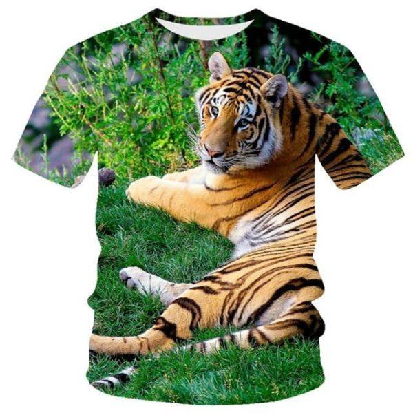 T-Shirt Tigre Domestique