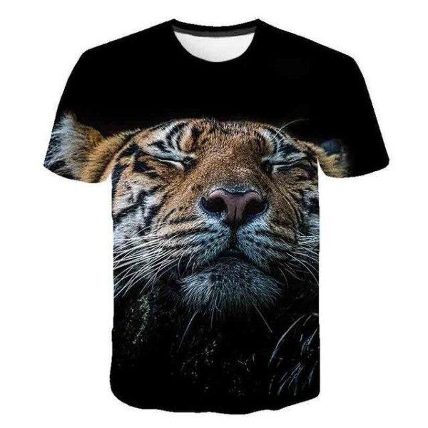 T-Shirt Tigre Assoupie