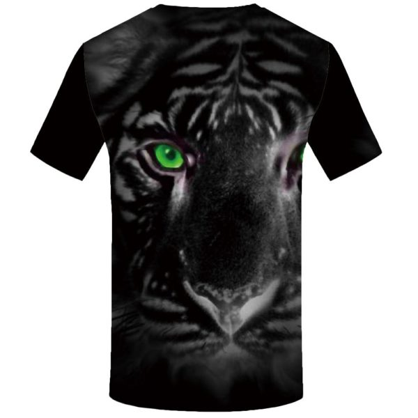 T-Shirt Tigre Au Yeux Vert