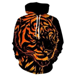 Sweat  tigre brulant