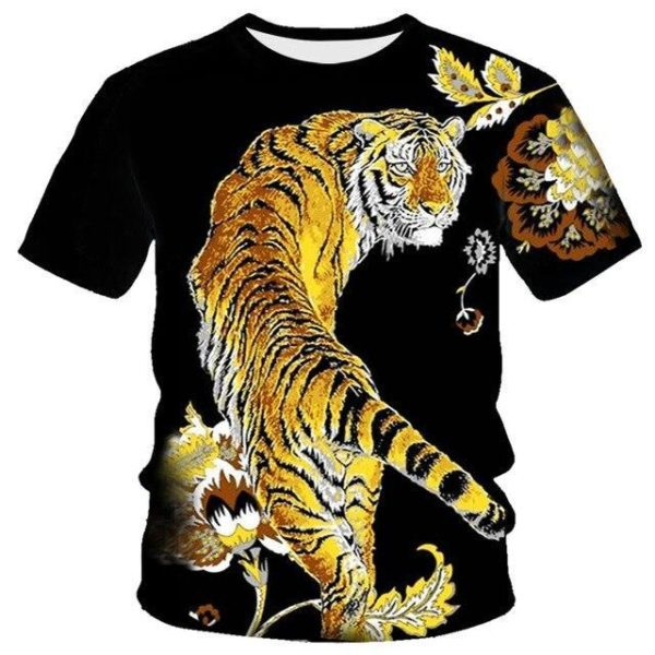 T-Shirt Tigre Chinois