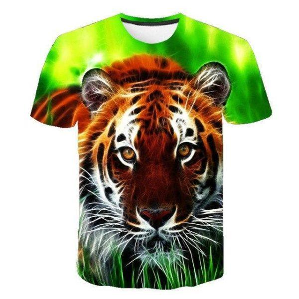T-Shirt Tigre Curieux