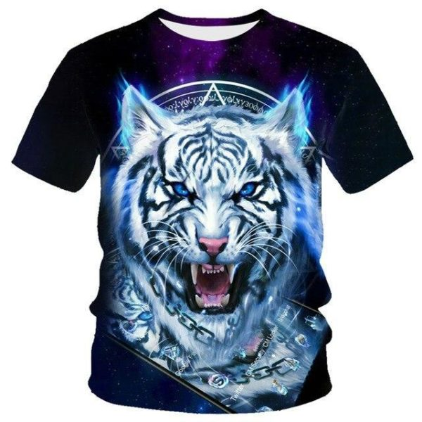 T-Shirt Tigre ancestral