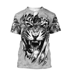 T-Shirt Tigre Déchiqueteur