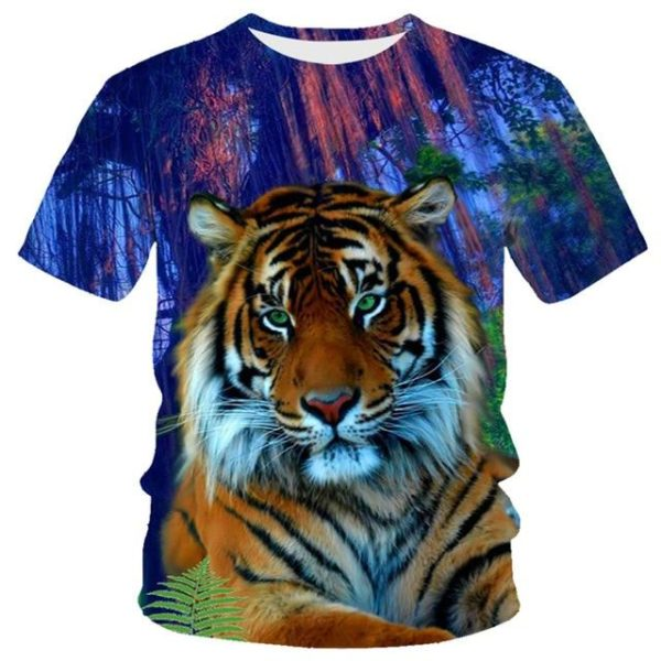 T-Shirt Tigre Eclaircie du matin