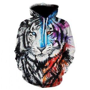 Sweat Tigre Fauve Tag