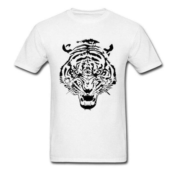T-Shirt Tigre tribal