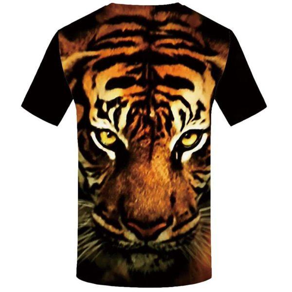 T-Shirt Tigre Head Prédateur