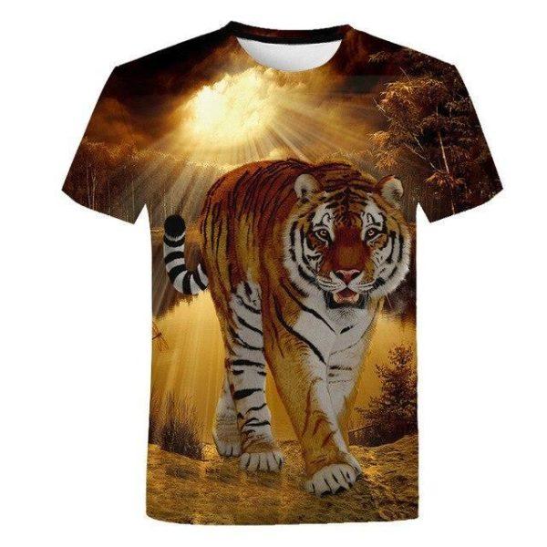 T-Shirt Tigre Illuminé