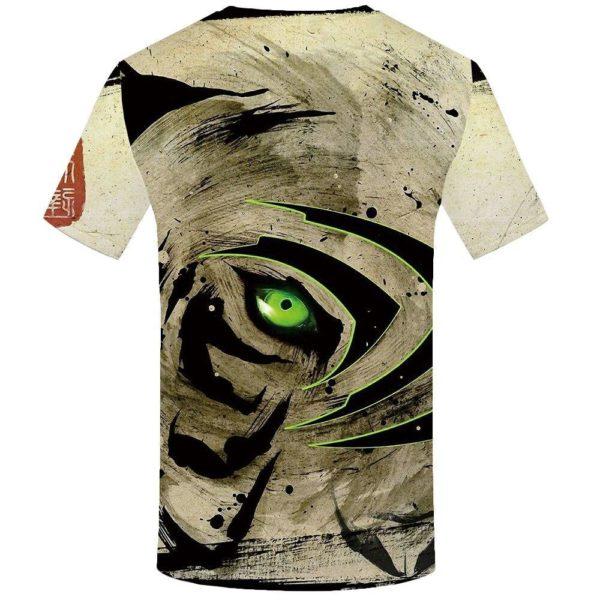 T-Shirt Tigre L'oeil du Tigre