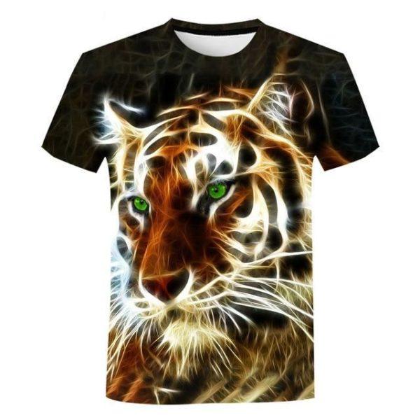 T-Shirt Tigre Luminescent
