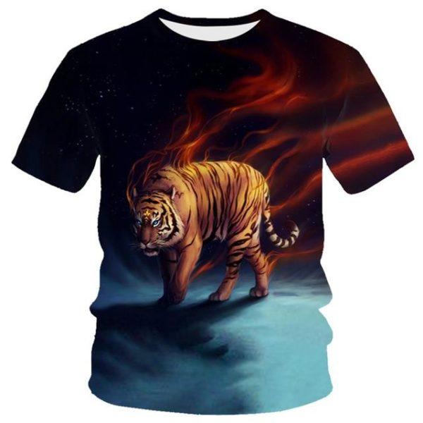 T-Shirt Tigre Possédé