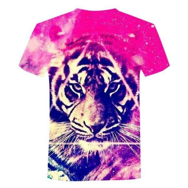 T-Shirt Tigre Psychédélique