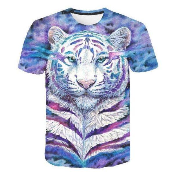 T-Shirt Tigre Revisité