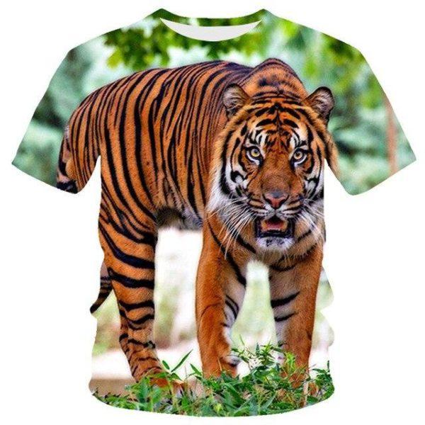 T-Shirt Tigre Surpris