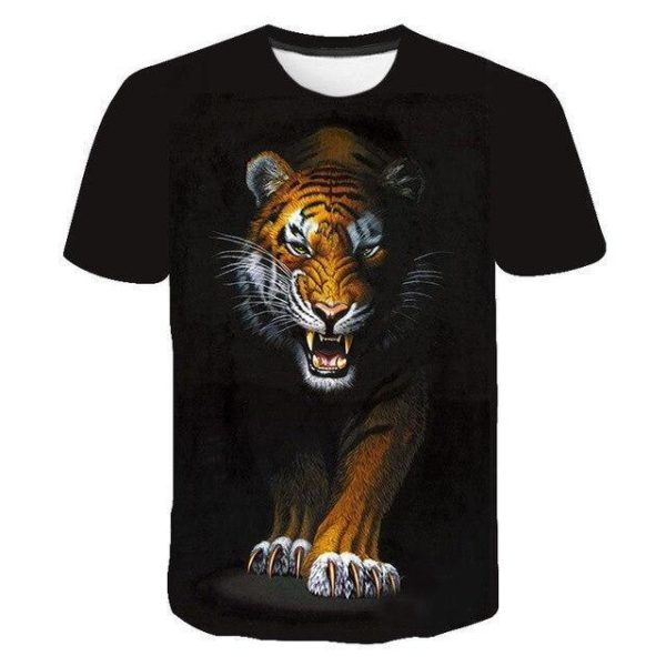 T-Shirt Tigre Terreur Nocturne