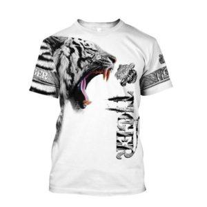 T-Shirt Tigre Tiger White