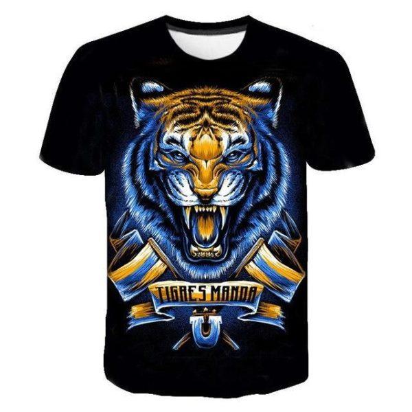 T-Shirt Tigre Tigres Manda