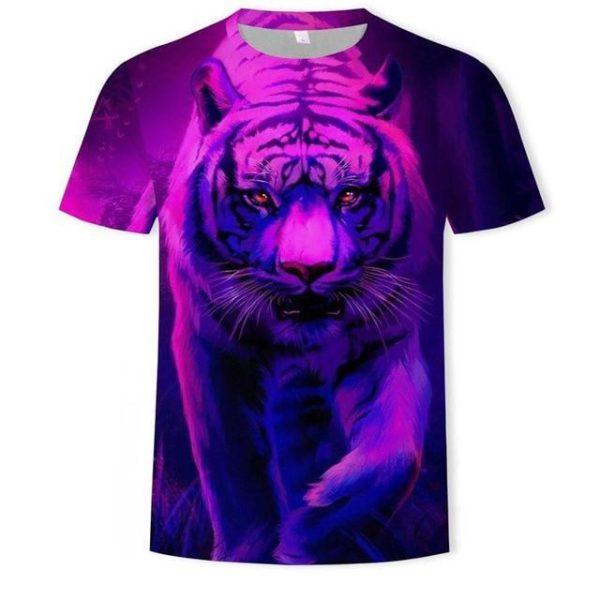 T-Shirt Tigre Troisième Dimension