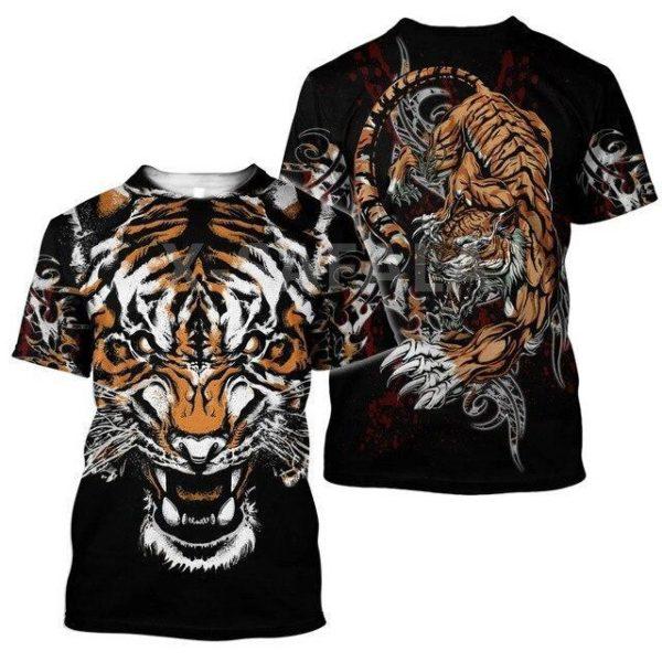 T-Shirt Tigre Démoniaque