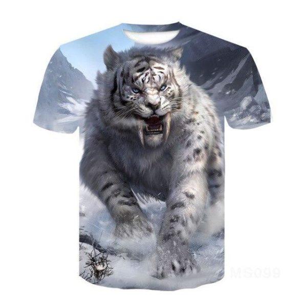 T-Shirt Tigre Yeti