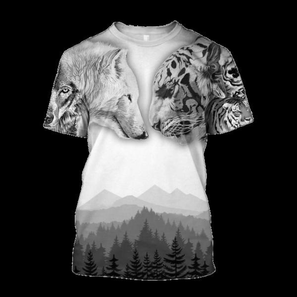 T-Shirt Tigre Guerre Territoire