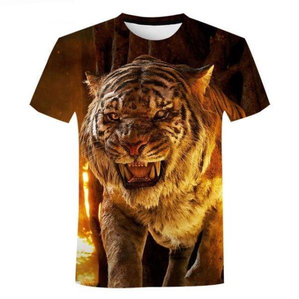 T-shirt Tigre Sherkane