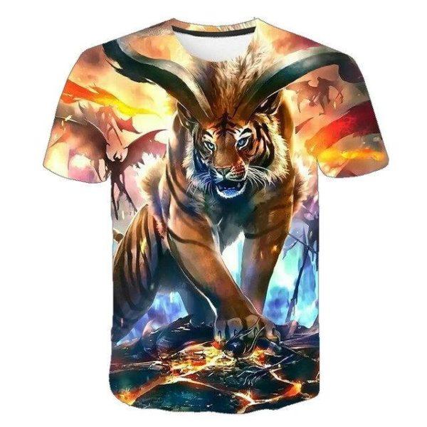T-Shirt Tigre Tiger manga