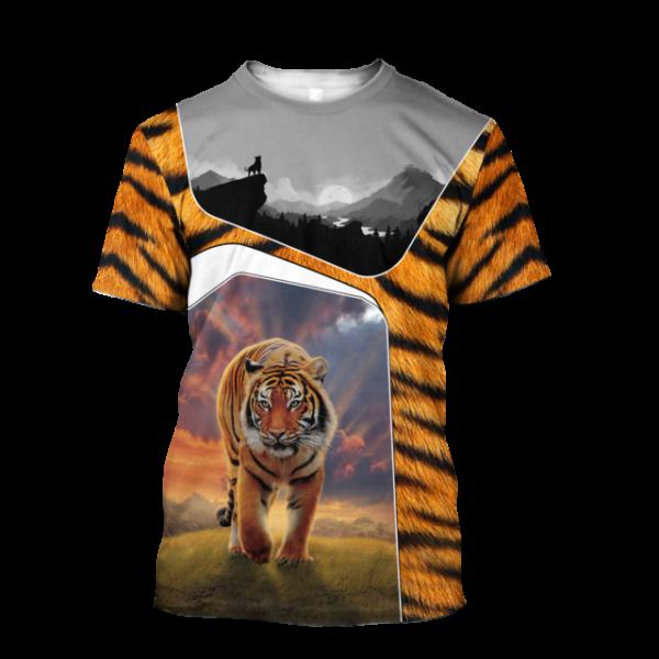 t-shirt tigre prairie